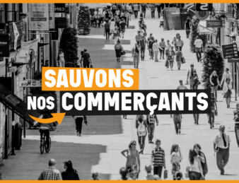 LANCEMENT DU COLLECTIF SAUVONS NOS COMMERÇANTS !