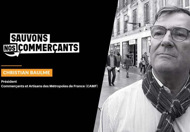 Christian Baulme, porte-parole du collectif, demande une équité fiscale de traitement !